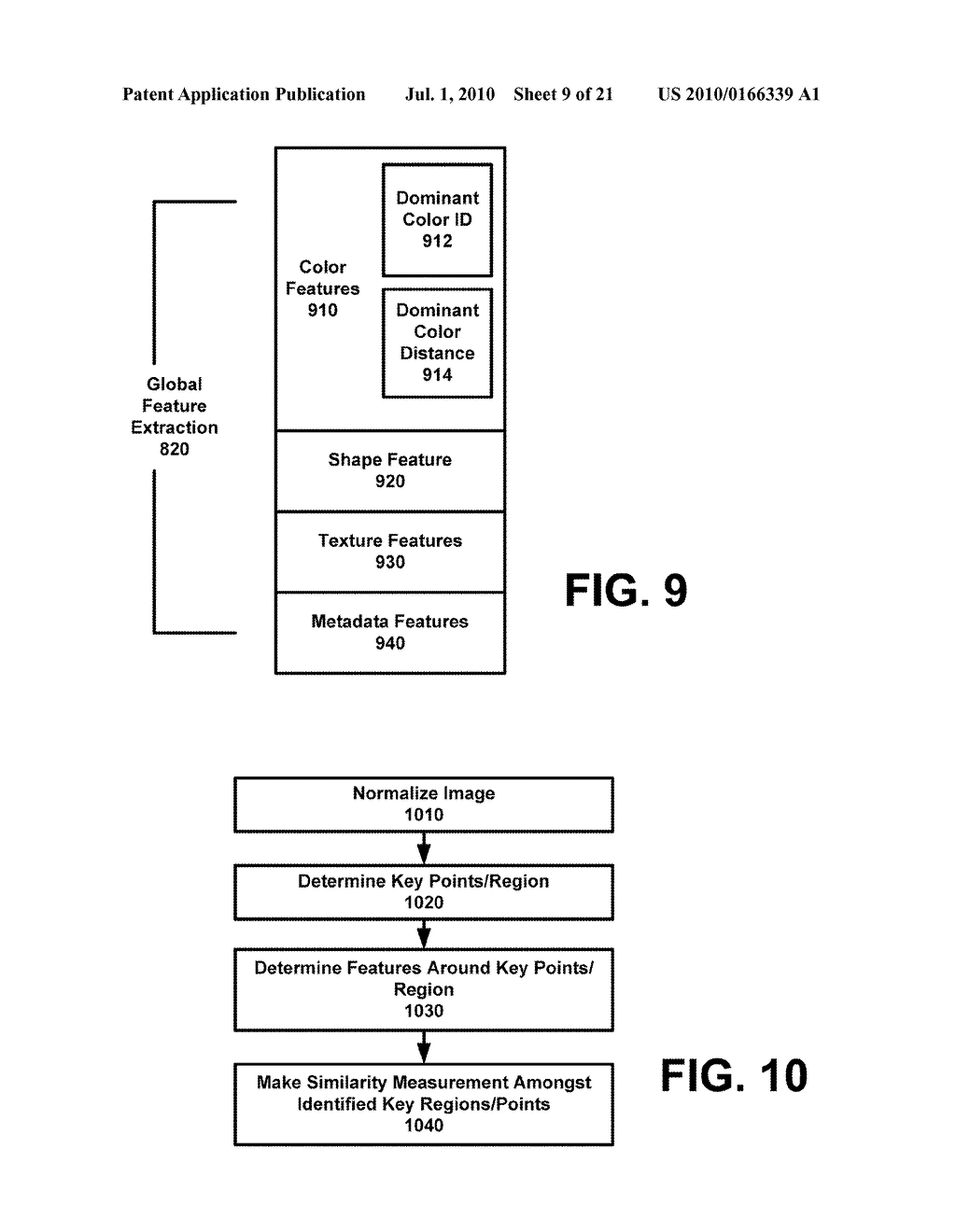 SYSTEM AND METHOD FOR ENABLING IMAGE RECOGNITION AND SEARCHING OF IMAGES - diagram, schematic, and image 10