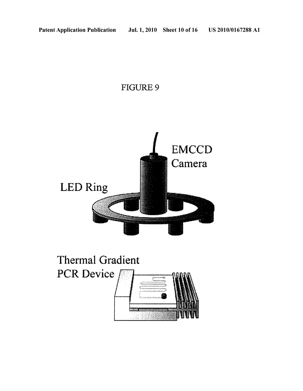 Methods and Compositions Related to Continuous Flow Thermal Gradient PCR - diagram, schematic, and image 11