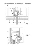 COOLER FOR BULK MATERIAL HAVING A SEALING DEVICE BETWEEN ADJOINING CONVEYING PLANKS diagram and image