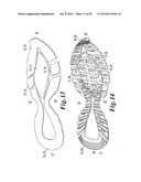 ATHLETIC SHOE WITH CUSHION STRUCTURES diagram and image