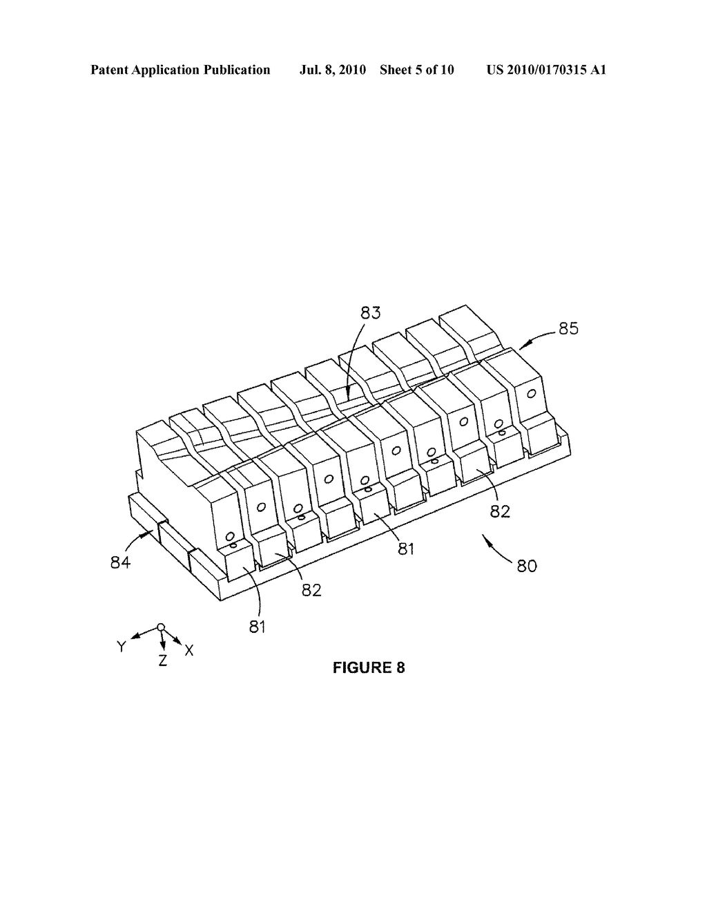 Assembly and Method for Press Forming a Deformable Material - diagram, schematic, and image 06