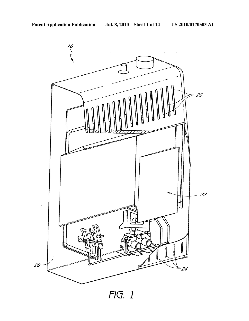 HEATER CONFIGURED TO OPERATE WITH A FIRST OR SECOND FUEL - diagram, schematic, and image 02