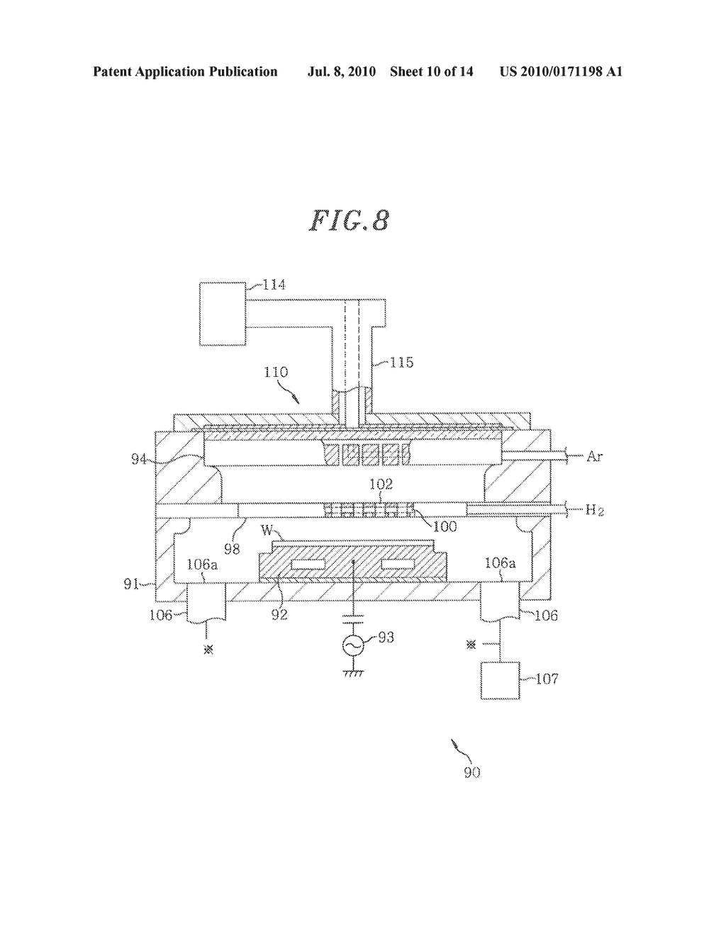 METHOD FOR MANUFACTURING SEMICONDUCTOR DEVICE, SEMICONDUCTOR DEVICE, SEMICONDUCTOR MANUFACTURING APPARATUS AND STORAGE MEDIUM - diagram, schematic, and image 11