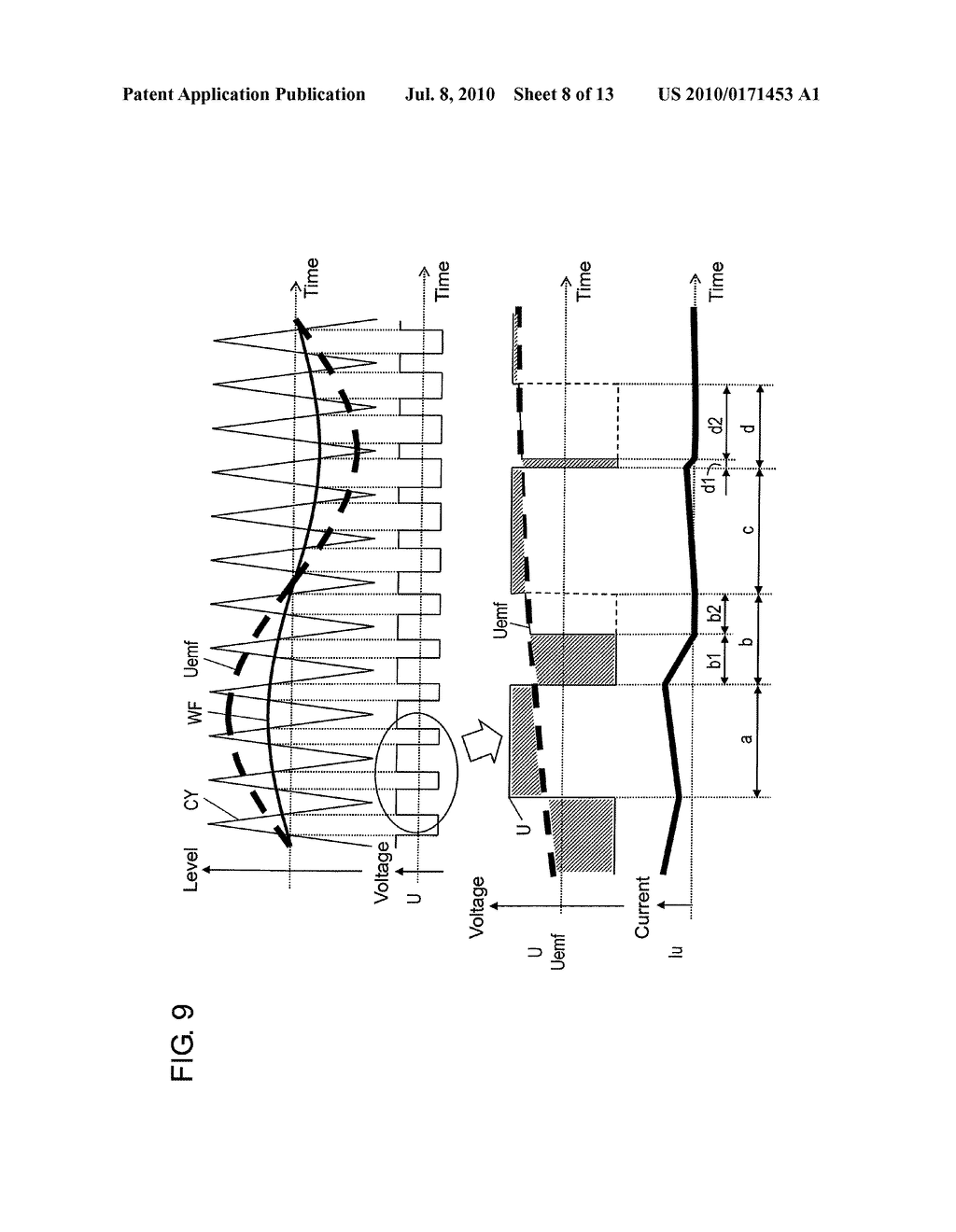 MOTOR DRIVING DEVICE, MOTOR DEVICE, AND INTEGRATED CIRCUIT DEVICE - diagram, schematic, and image 09