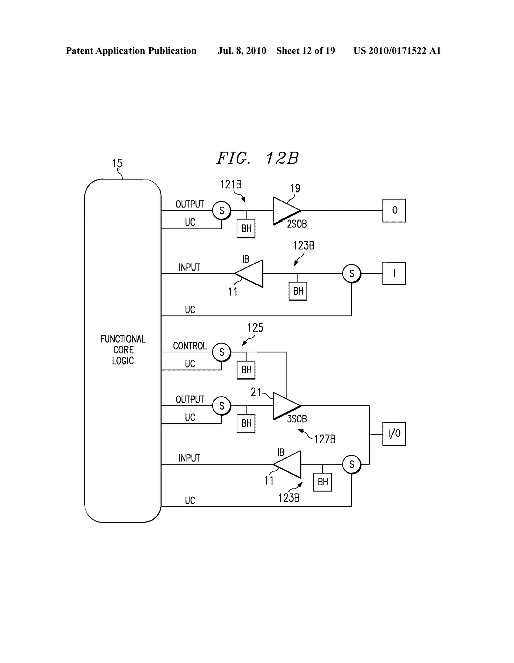 Ic Output Signal Path With Switch Bus Holder And Buffer Diagram Schematic Image 13
