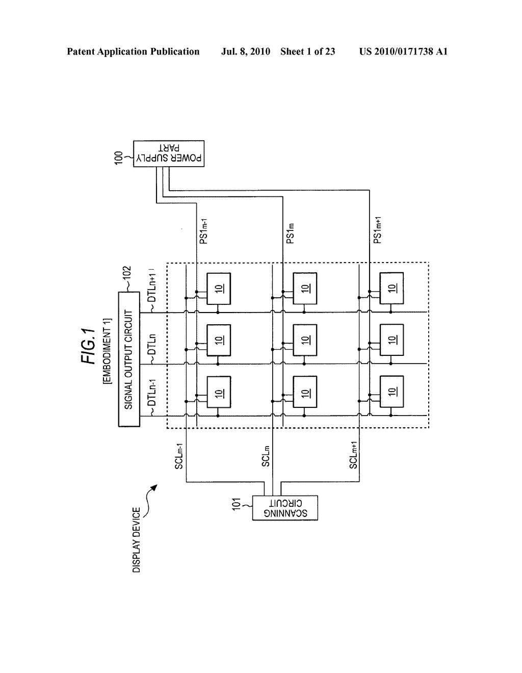 Driving method of organic electroluminescence emission part - diagram, schematic, and image 02