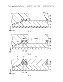 Perpendicular magnetic write head, method of manufacturing the same and method of forming magnetic layer pattern diagram and image