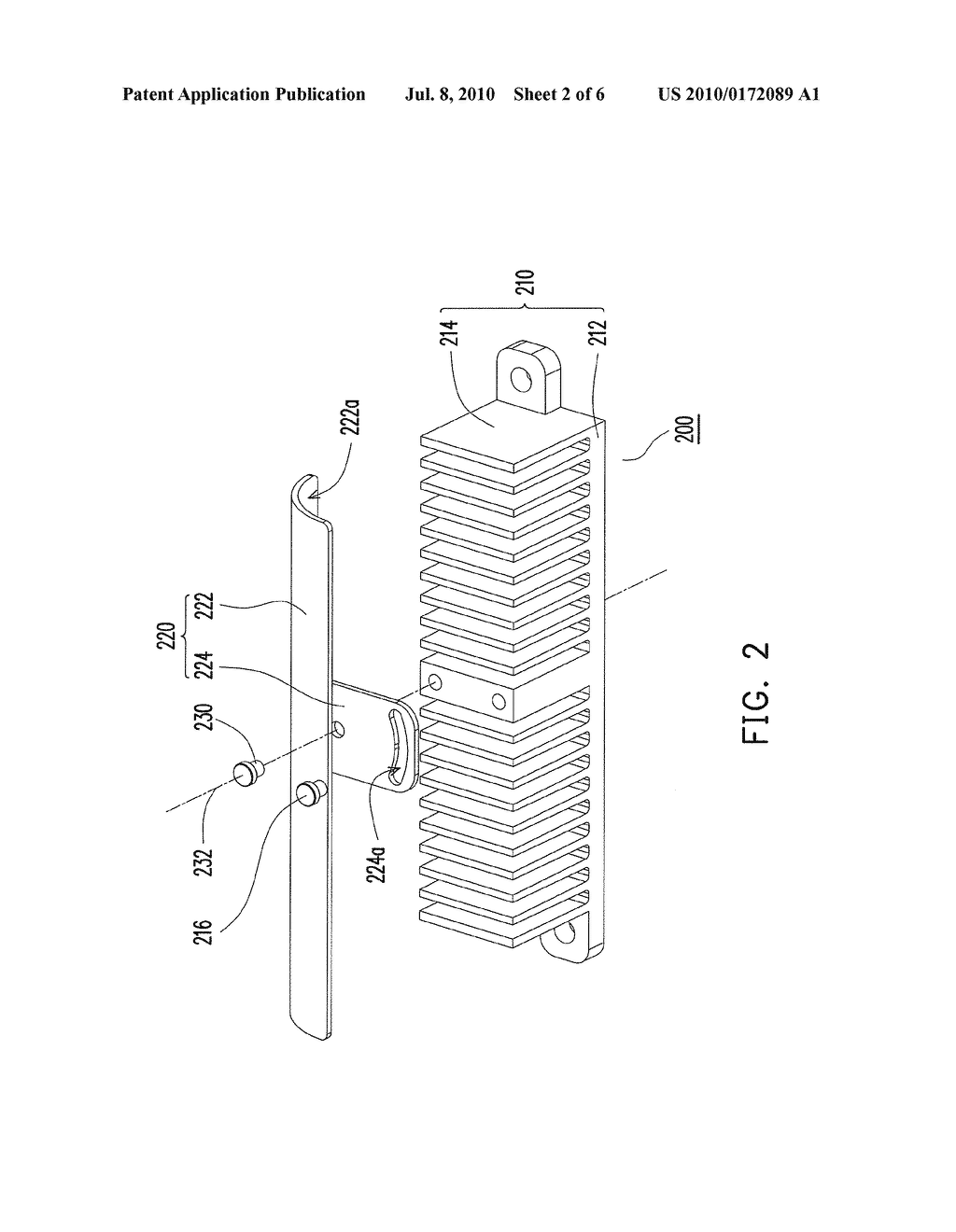 HEAT DISSIPATION MODULE AND ELECTRONIC DEVICE HAVING THE SAME - diagram, schematic, and image 03