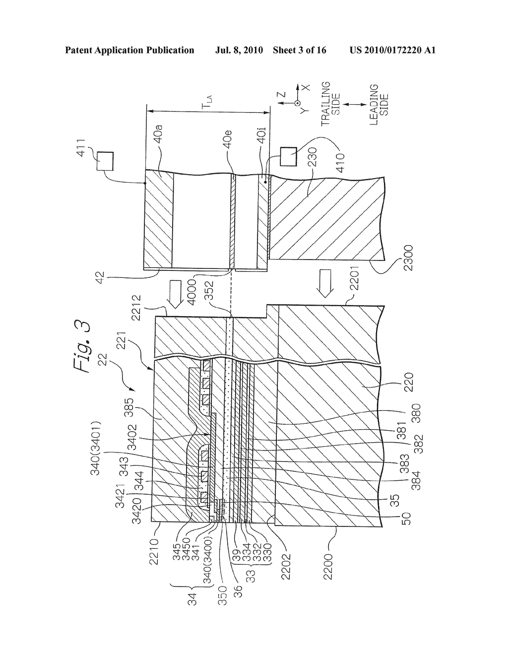 Near-Field Light Generating Element Comprising Surface Plasmon Antenna And Waveguide With Groove - diagram, schematic, and image 04