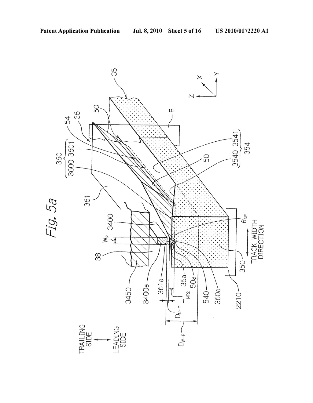 Near-Field Light Generating Element Comprising Surface Plasmon Antenna And Waveguide With Groove - diagram, schematic, and image 06