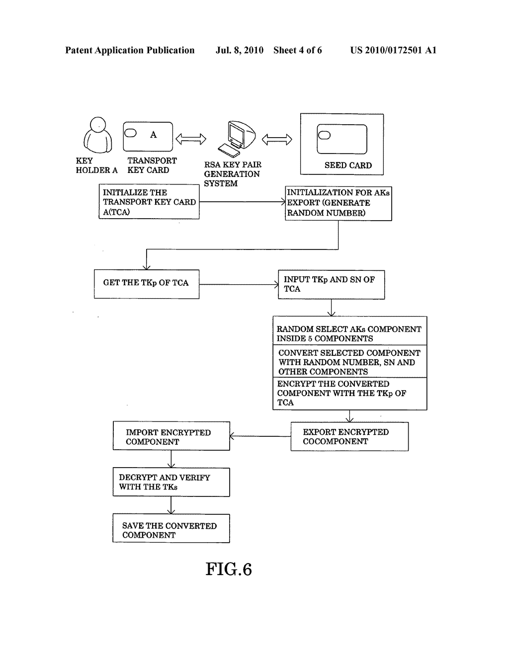 Secure key system - diagram, schematic, and image 05