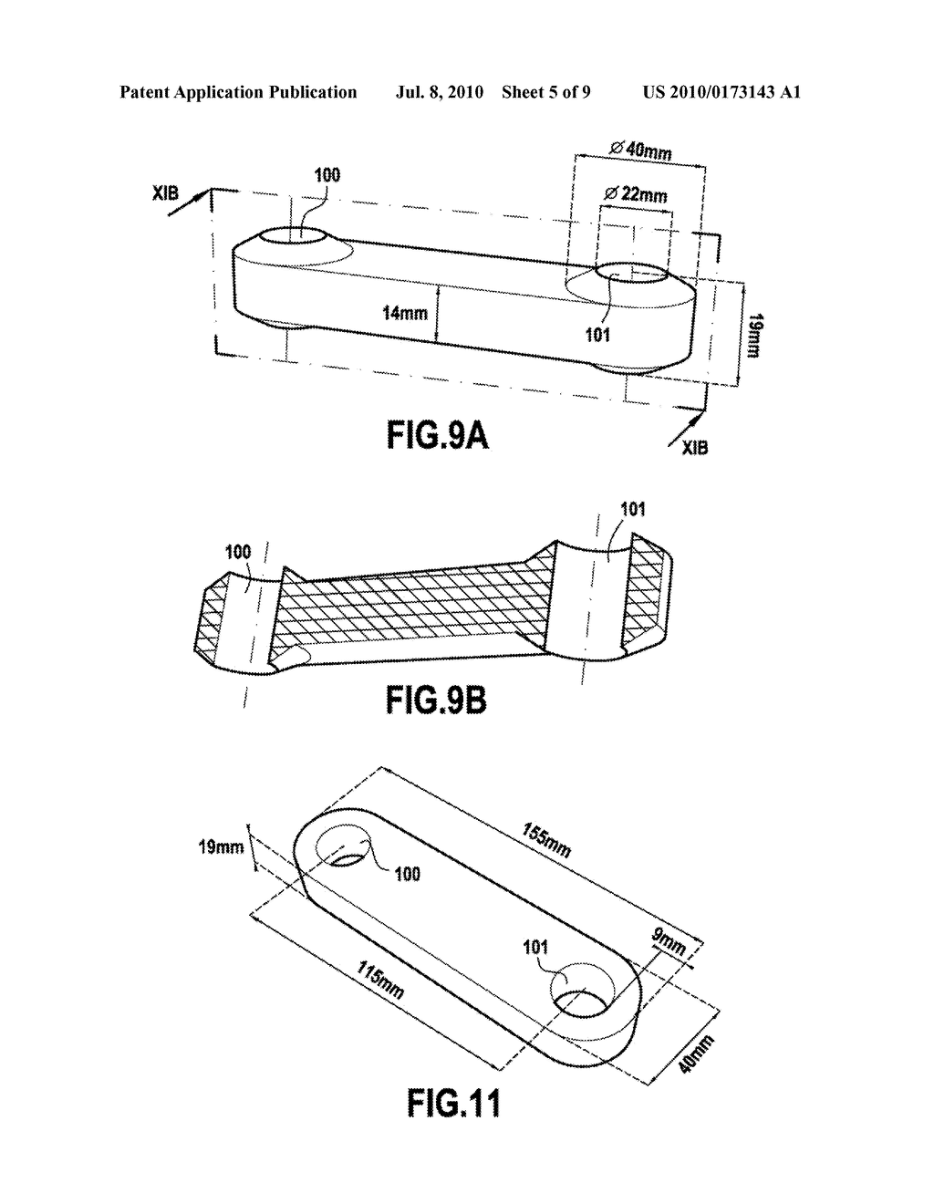 METHOD FOR MAKING COMPOSITE PARTS HAVING AT LEAST ONE CURVED AREA - diagram, schematic, and image 06