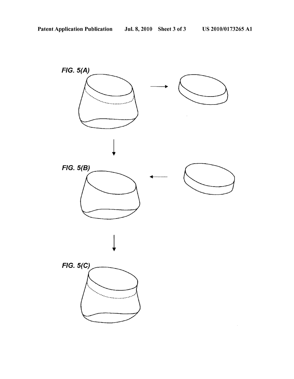 METHOD FOR CREATING THREE-DIMENSIONAL DATA OF POSITION OF OUTER PERIPHERY AT OCCLUSAL SURFACE SIDE OF KEEPER WITH RESPECT TO ABUTMENT FOR IMPLANT - diagram, schematic, and image 04