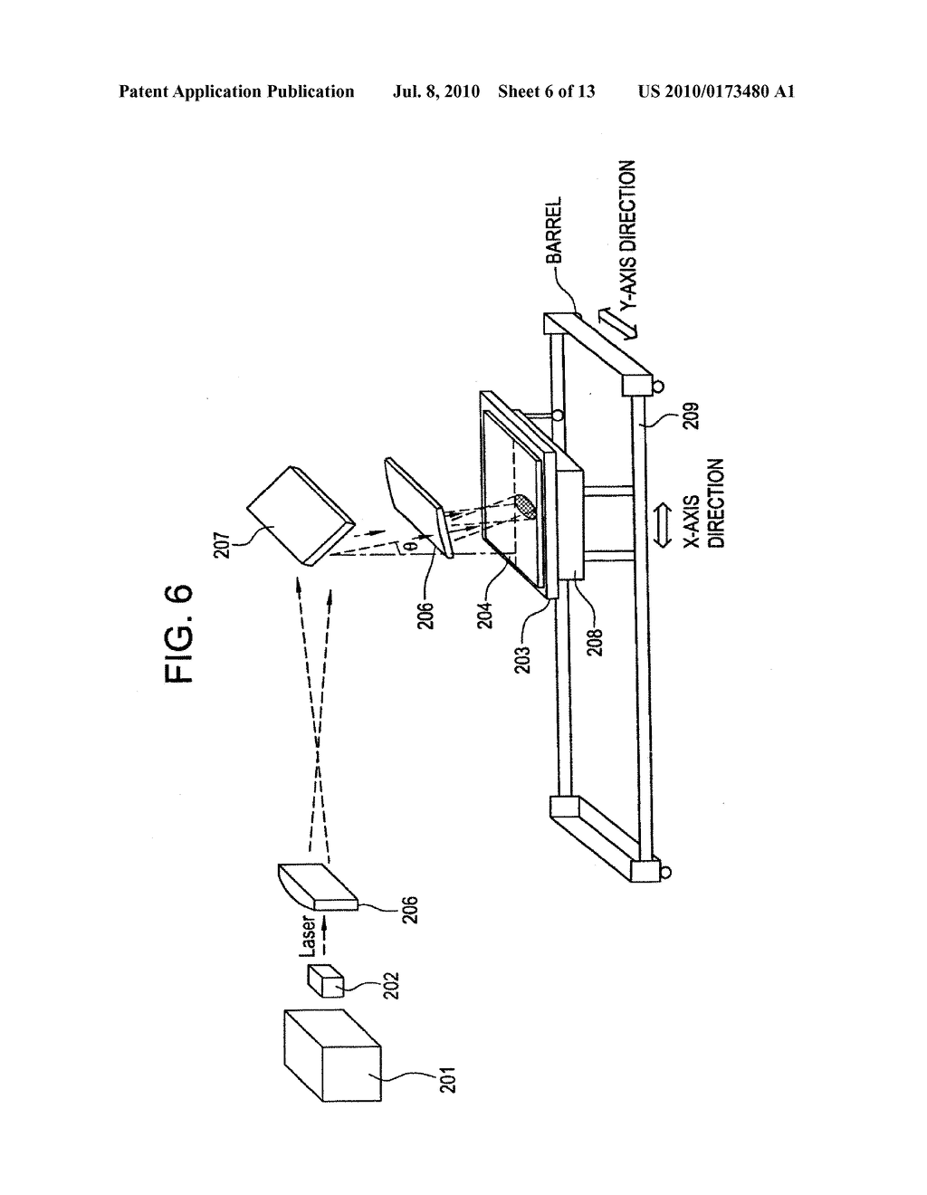 LASER ANNEALING APPARATUS AND SEMICONDUCTOR DEVICE MANUFACTURING METHOD - diagram, schematic, and image 07