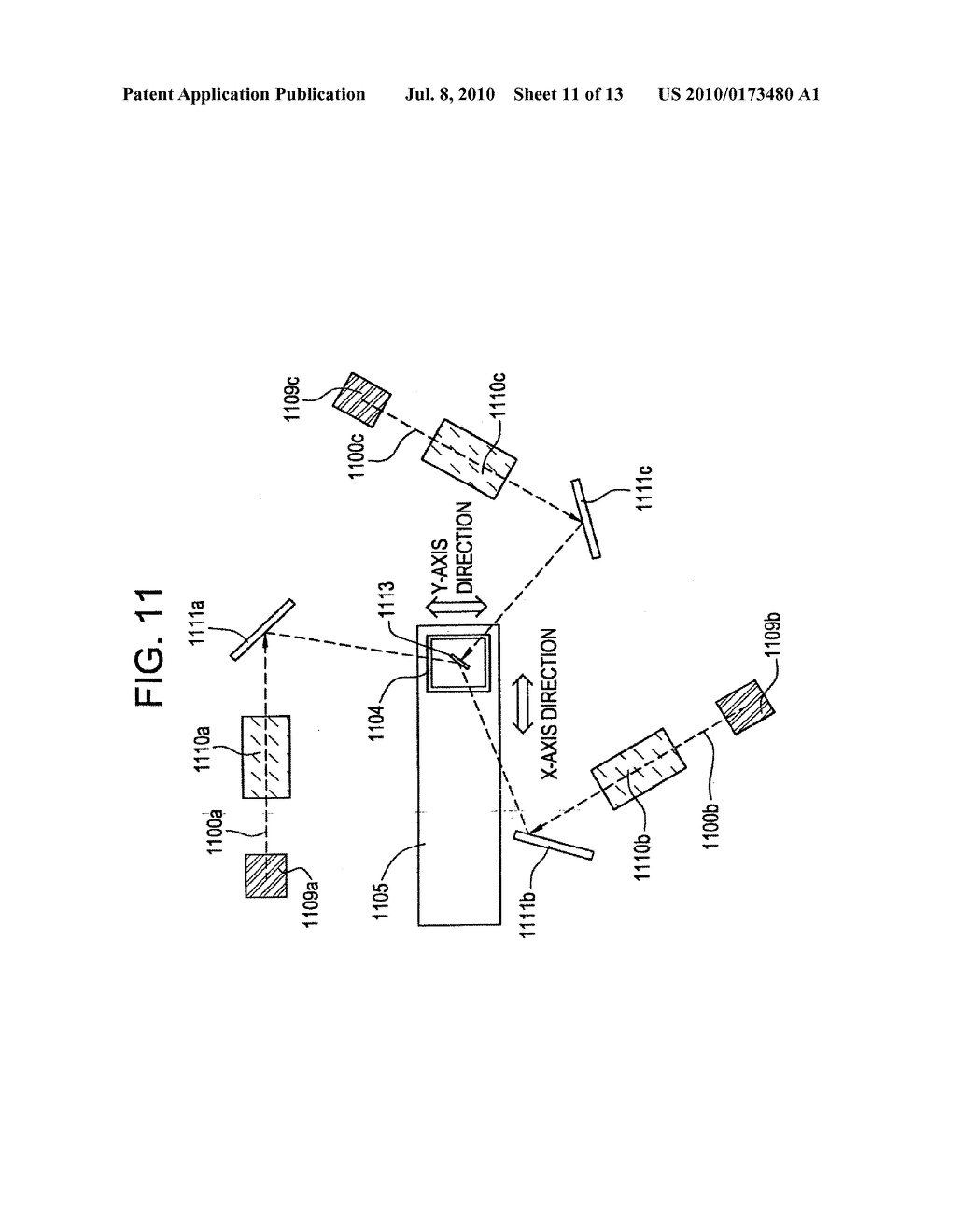 LASER ANNEALING APPARATUS AND SEMICONDUCTOR DEVICE MANUFACTURING METHOD - diagram, schematic, and image 12