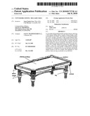 CONVERTIBLE DINING / BILLIARD TABLE diagram and image