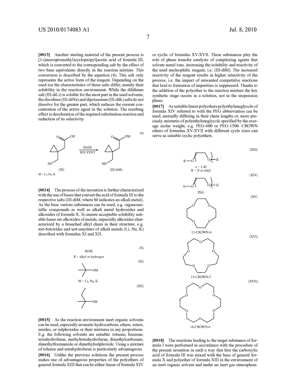 METHOD FOR THE PREPARATION OF MONTELUKAST - diagram, schematic, and image 10