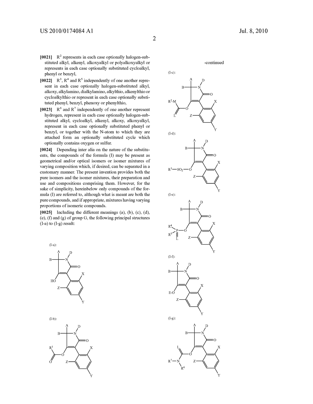 2-Alkoxy-6-alkyl-phenyl-substituted Spirocyclic Tetramic Acid Derivatives - diagram, schematic, and image 03