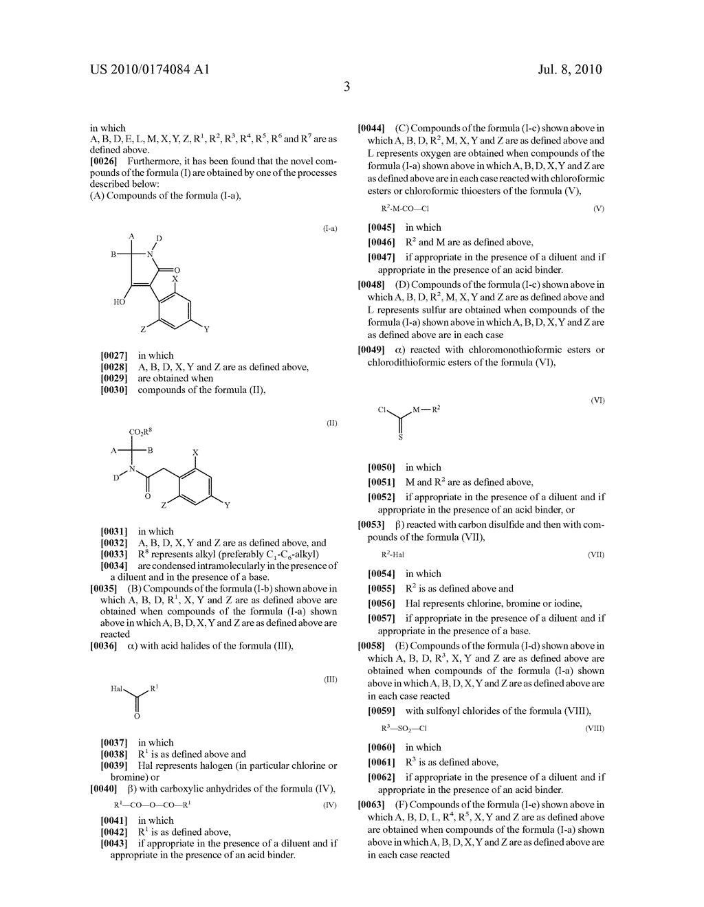 2-Alkoxy-6-alkyl-phenyl-substituted Spirocyclic Tetramic Acid Derivatives - diagram, schematic, and image 04