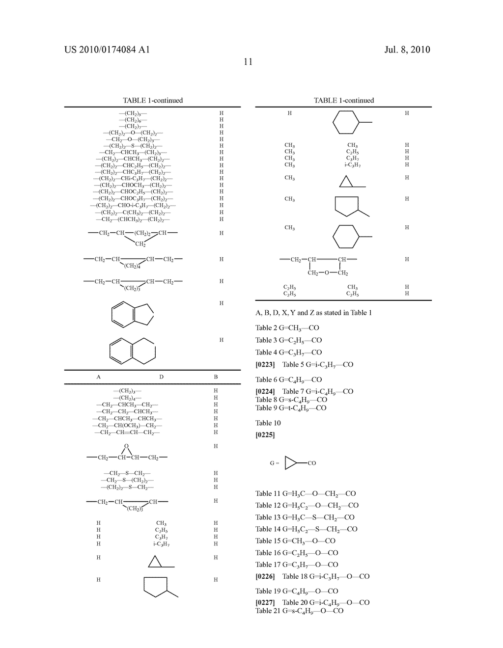2-Alkoxy-6-alkyl-phenyl-substituted Spirocyclic Tetramic Acid Derivatives - diagram, schematic, and image 12