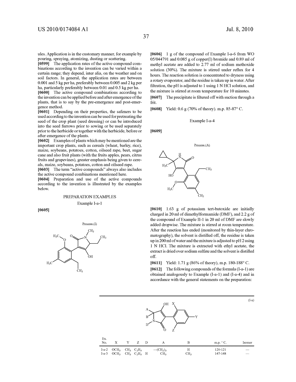2-Alkoxy-6-alkyl-phenyl-substituted Spirocyclic Tetramic Acid Derivatives - diagram, schematic, and image 38