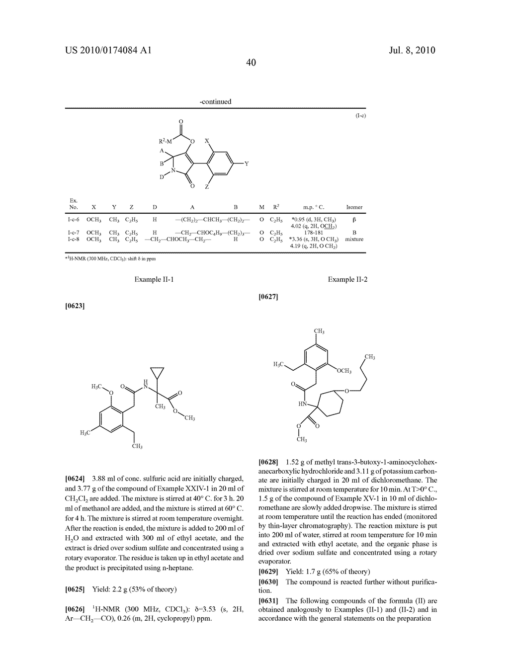 2-Alkoxy-6-alkyl-phenyl-substituted Spirocyclic Tetramic Acid Derivatives - diagram, schematic, and image 41