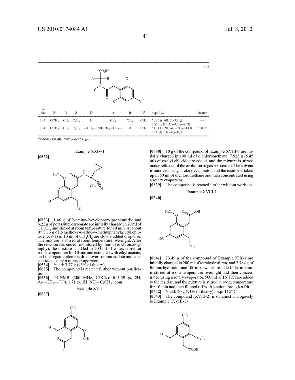 2-Alkoxy-6-alkyl-phenyl-substituted Spirocyclic Tetramic Acid Derivatives - diagram, schematic, and image 42