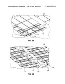 Flexible roof-mount system and method for solar panels diagram and image