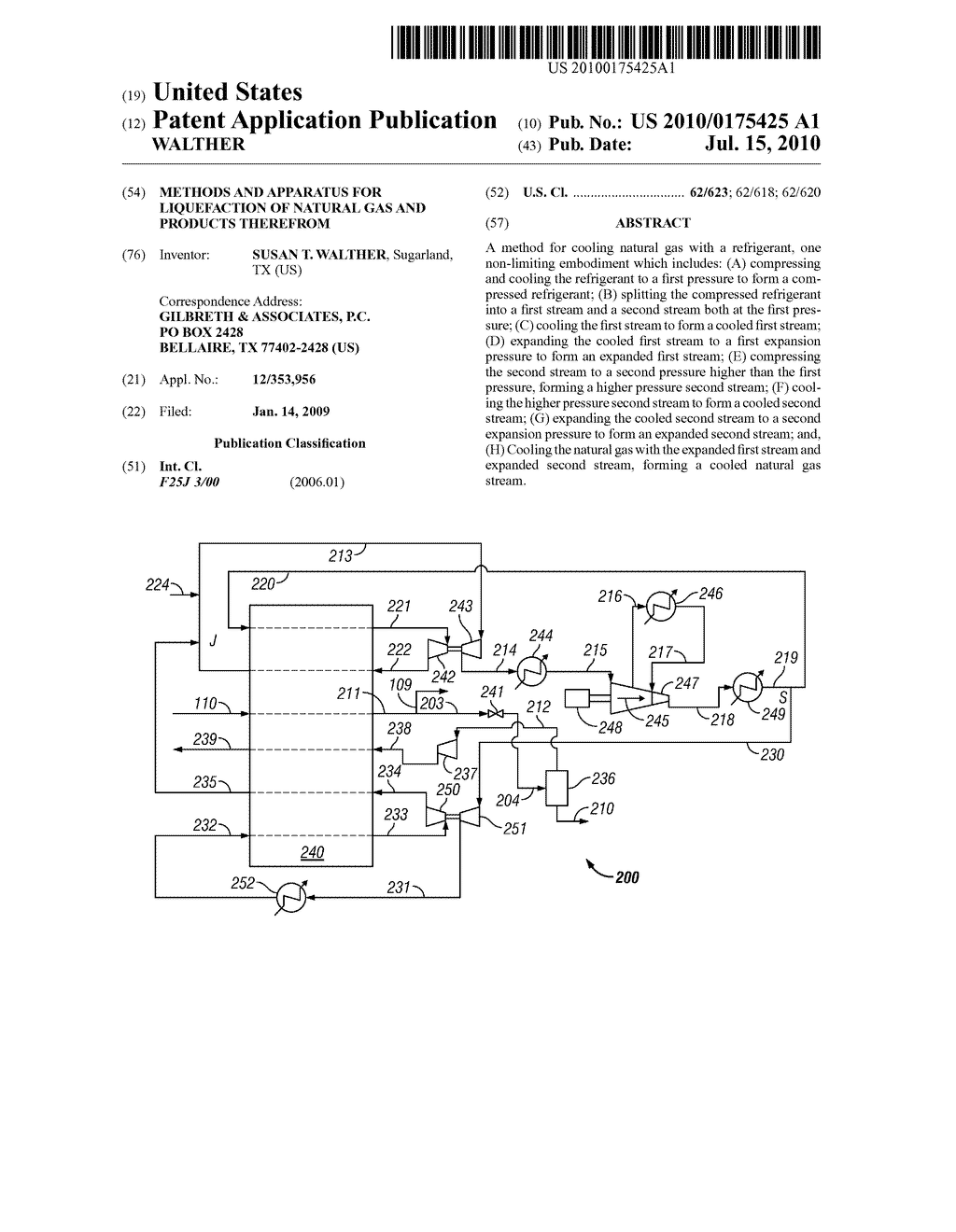 METHODS AND APPARATUS FOR LIQUEFACTION OF NATURAL GAS AND PRODUCTS THEREFROM - diagram, schematic, and image 01