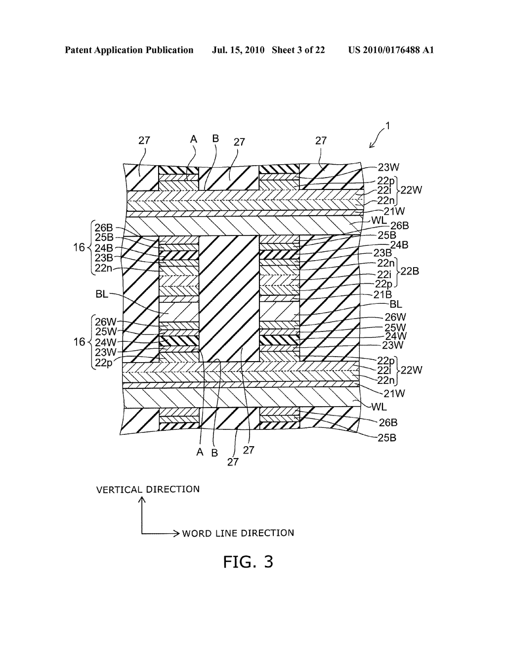SEMICONDUCTOR MEMORY DEVICE AND METHOD FOR MANUFACTURING SAME - diagram, schematic, and image 04