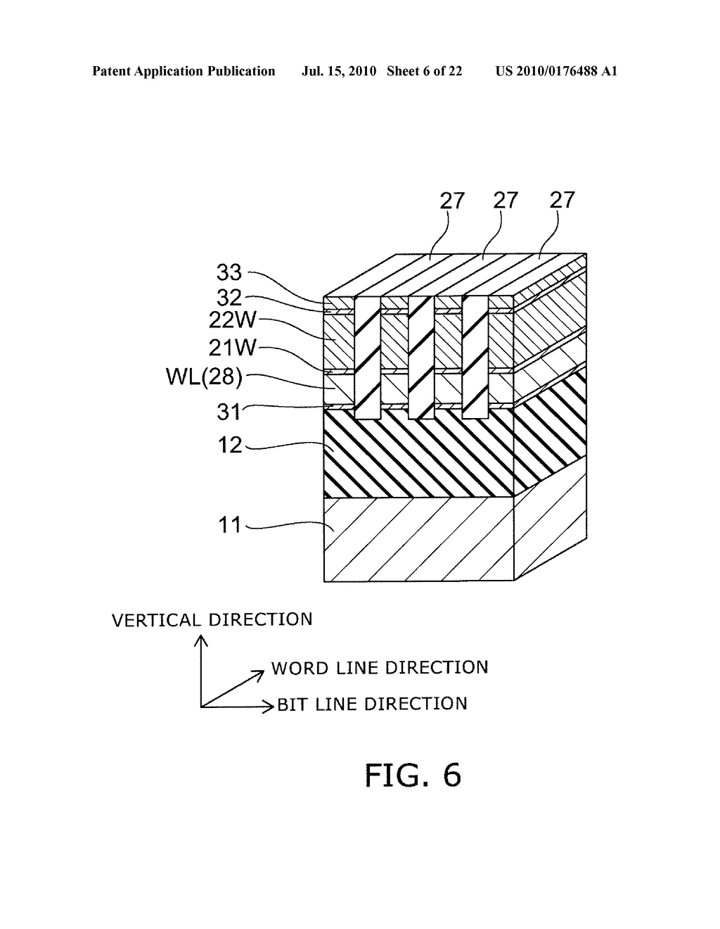 SEMICONDUCTOR MEMORY DEVICE AND METHOD FOR MANUFACTURING SAME - diagram, schematic, and image 07