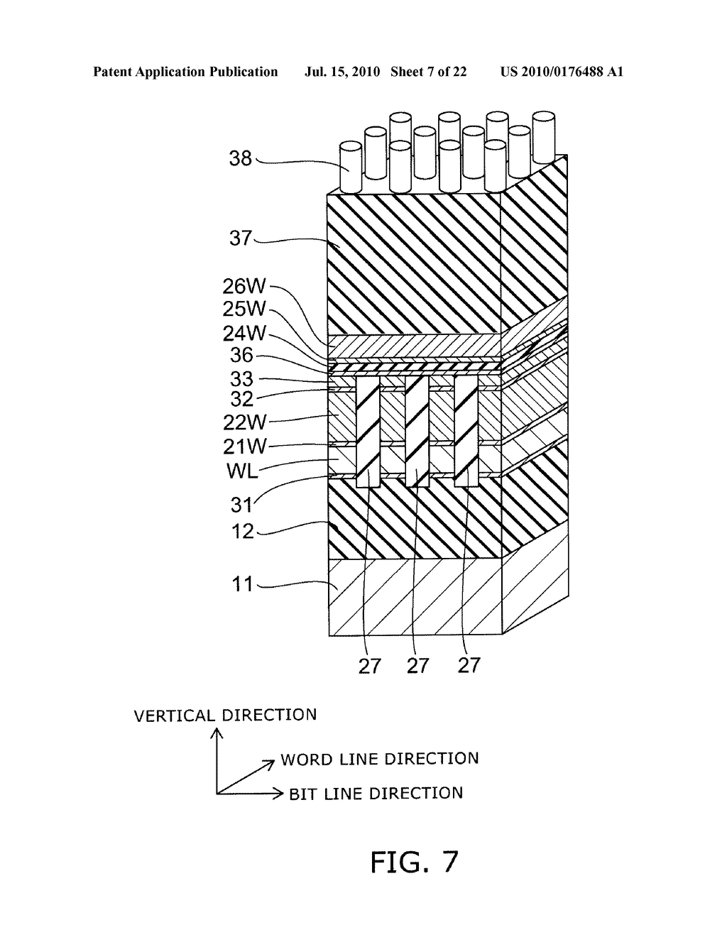 SEMICONDUCTOR MEMORY DEVICE AND METHOD FOR MANUFACTURING SAME - diagram, schematic, and image 08
