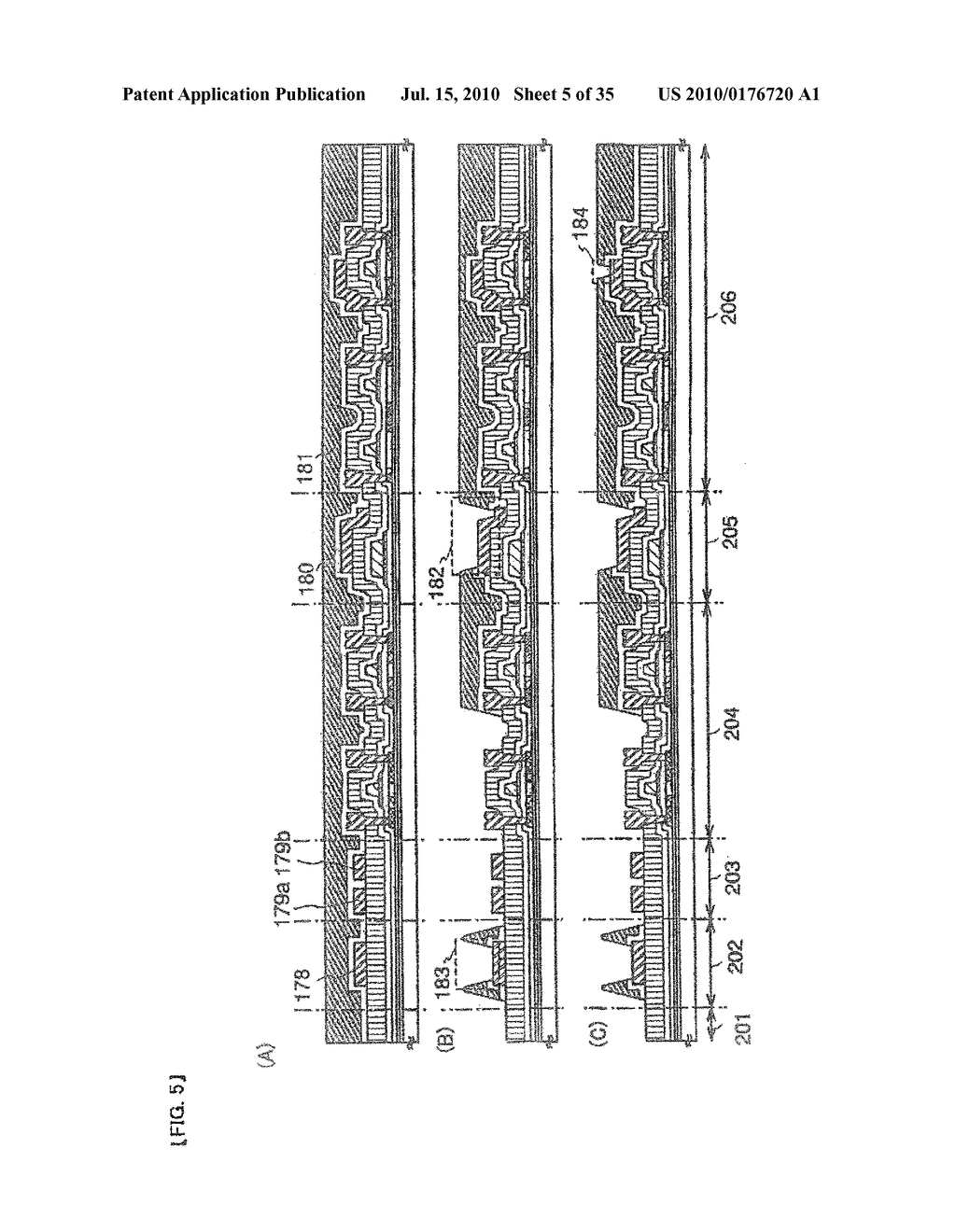 DISPLAY DEVICE, ELECTRONIC APPARATUS, AND METHOD OF FABRICATING THE DISPLAY DEVICE - diagram, schematic, and image 06