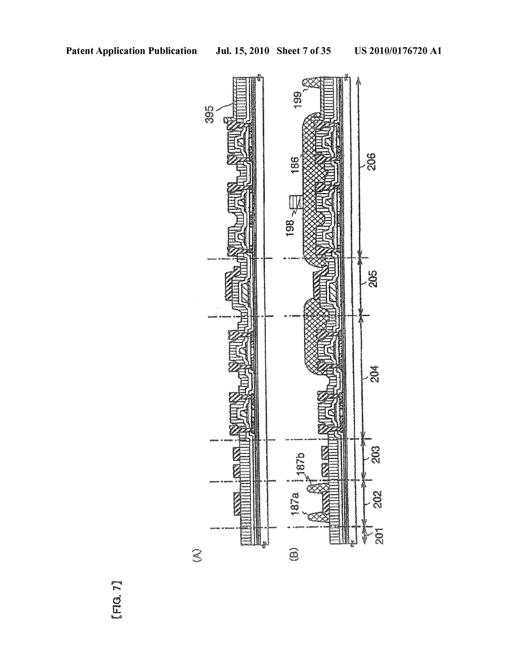 DISPLAY DEVICE, ELECTRONIC APPARATUS, AND METHOD OF FABRICATING THE DISPLAY DEVICE - diagram, schematic, and image 08