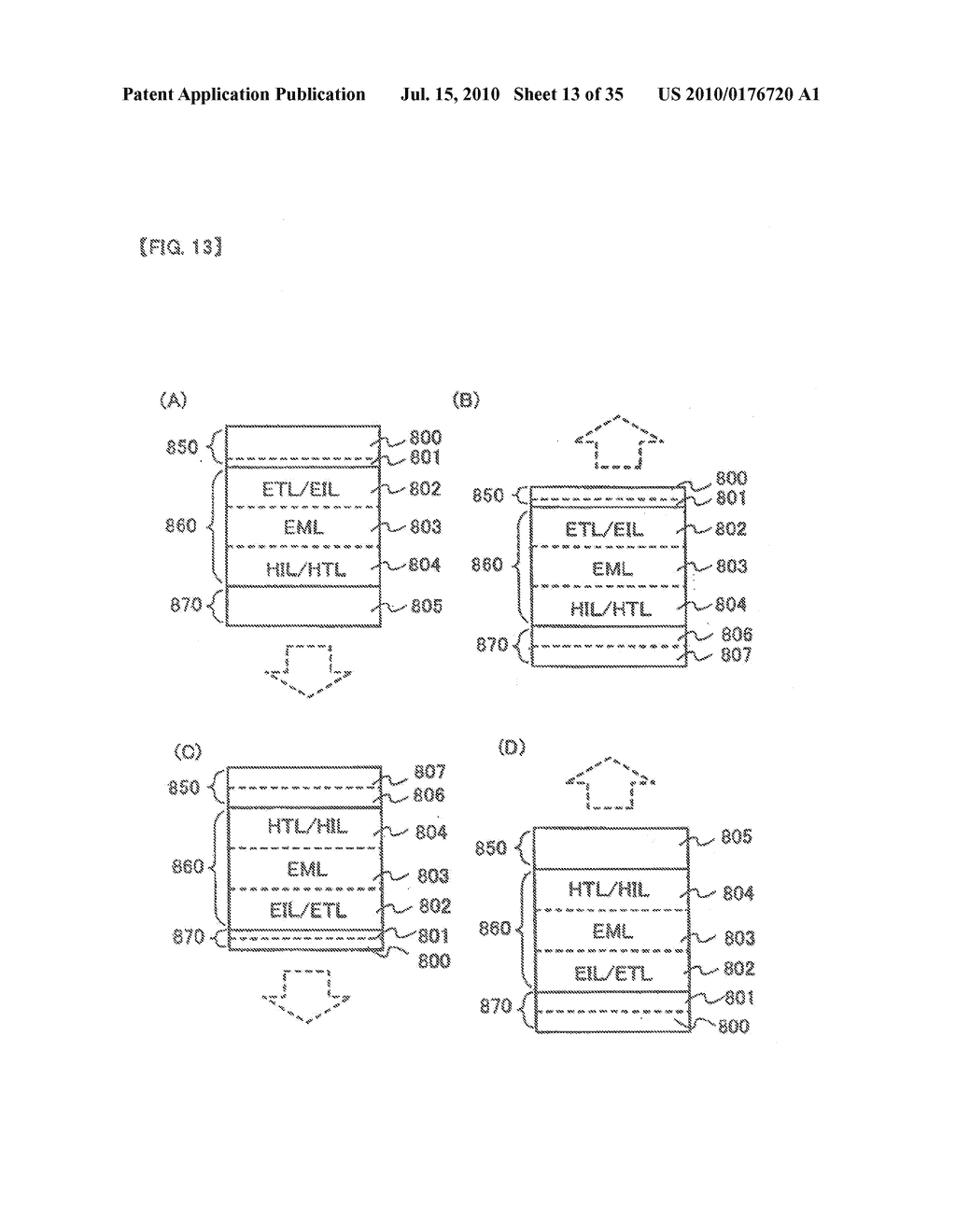 DISPLAY DEVICE, ELECTRONIC APPARATUS, AND METHOD OF FABRICATING THE DISPLAY DEVICE - diagram, schematic, and image 14