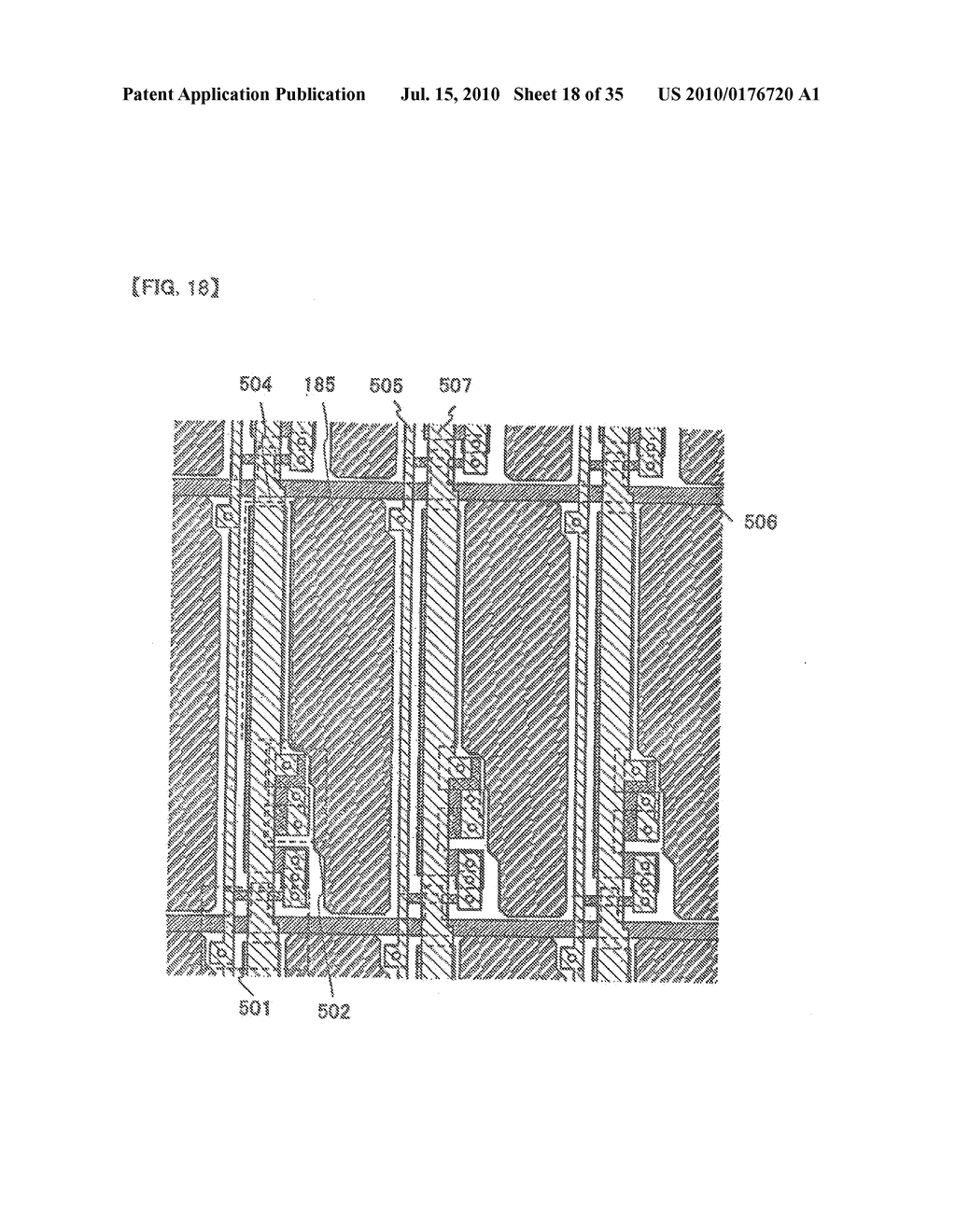 DISPLAY DEVICE, ELECTRONIC APPARATUS, AND METHOD OF FABRICATING THE DISPLAY DEVICE - diagram, schematic, and image 19