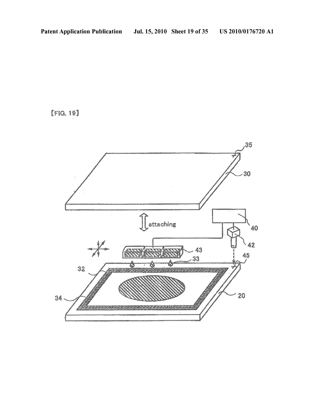 DISPLAY DEVICE, ELECTRONIC APPARATUS, AND METHOD OF FABRICATING THE DISPLAY DEVICE - diagram, schematic, and image 20