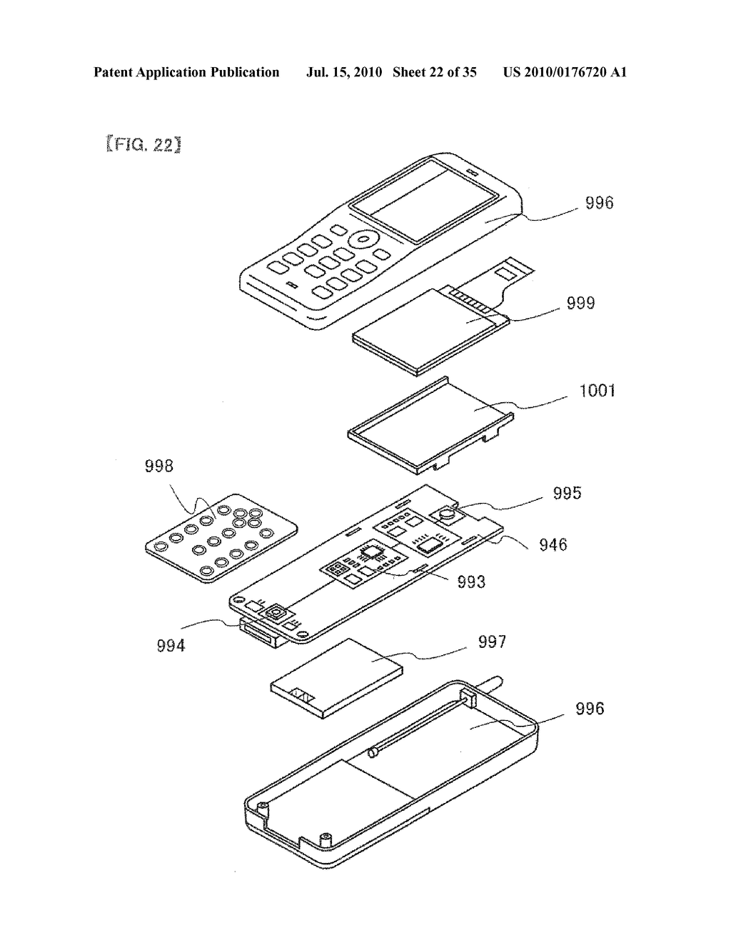 DISPLAY DEVICE, ELECTRONIC APPARATUS, AND METHOD OF FABRICATING THE DISPLAY DEVICE - diagram, schematic, and image 23