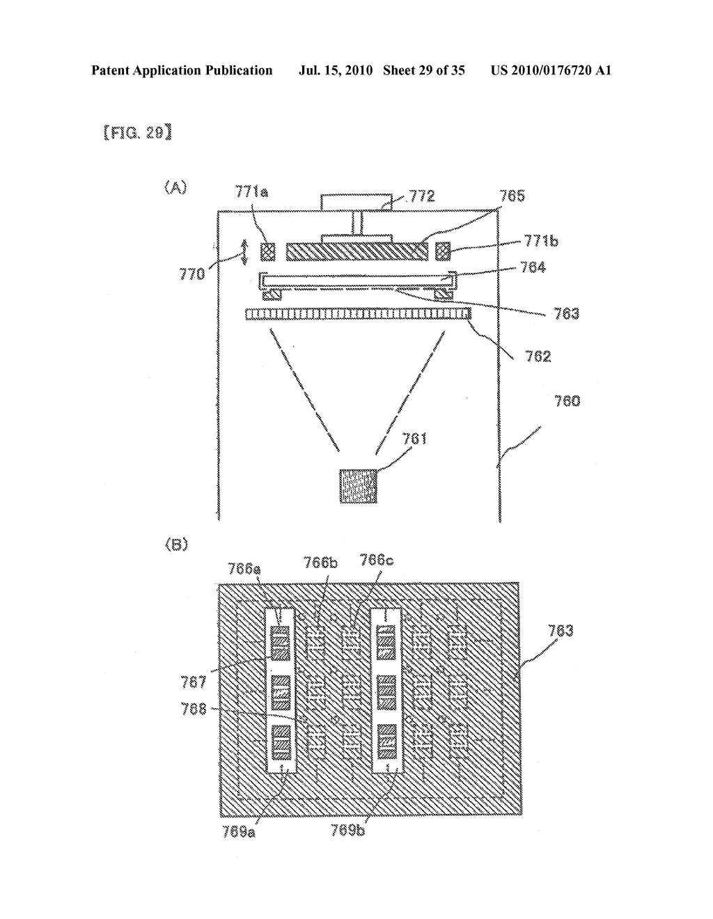 DISPLAY DEVICE, ELECTRONIC APPARATUS, AND METHOD OF FABRICATING THE DISPLAY DEVICE - diagram, schematic, and image 30