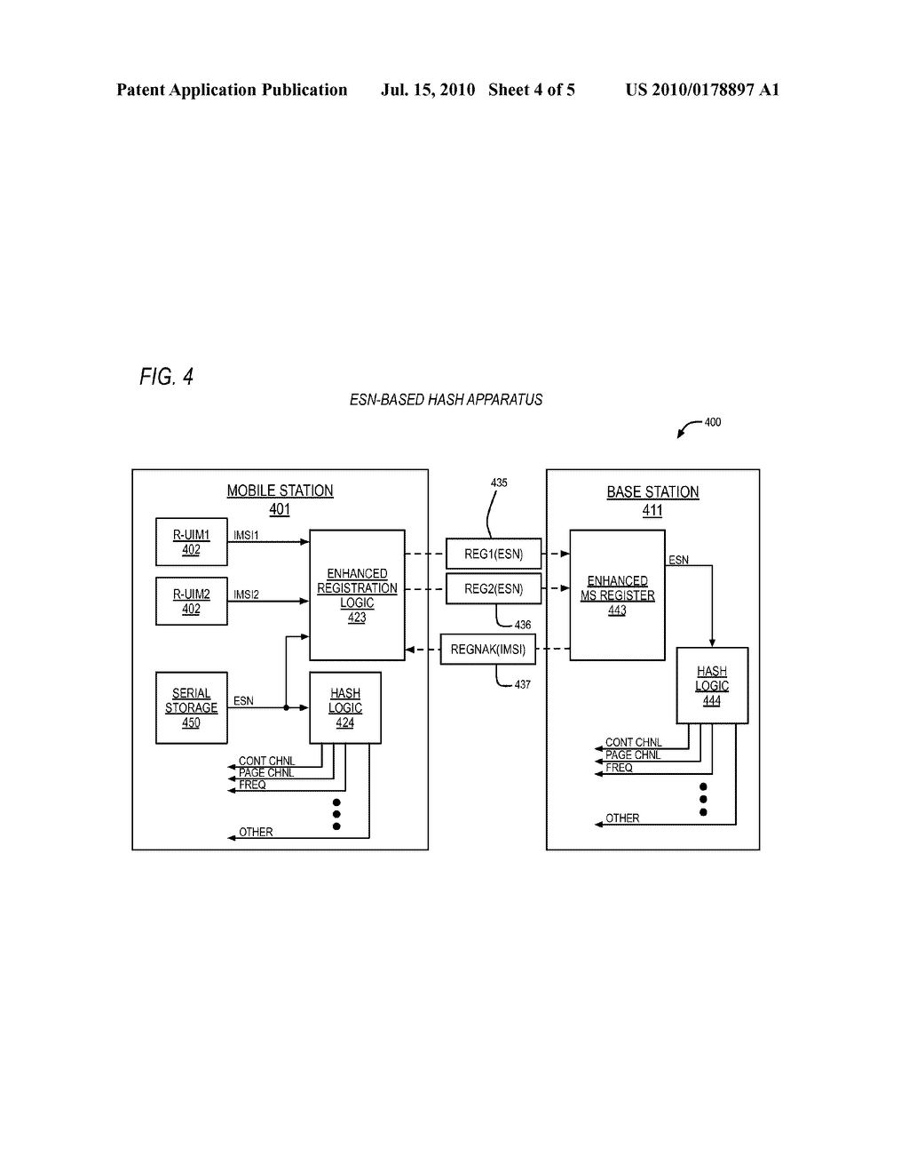 HASH KEY GENERATION APPARATUS AND METHOD FOR MULTIPLE CARDS COMMUNICATION SYSTEM - diagram, schematic, and image 05