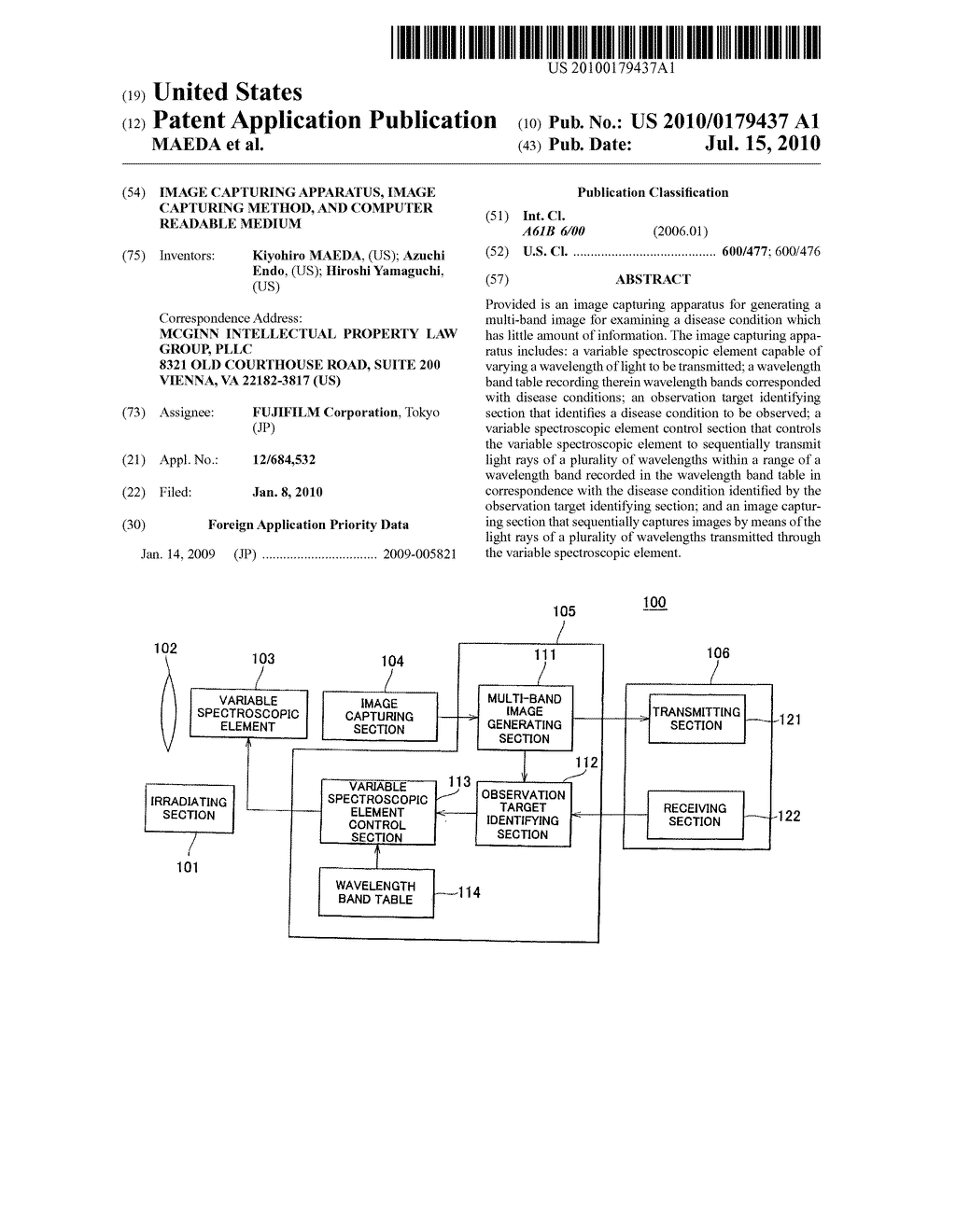 IMAGE CAPTURING APPARATUS, IMAGE CAPTURING METHOD, AND COMPUTER READABLE MEDIUM - diagram, schematic, and image 01