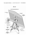 ACTUATED SOLAR TRACKER diagram and image