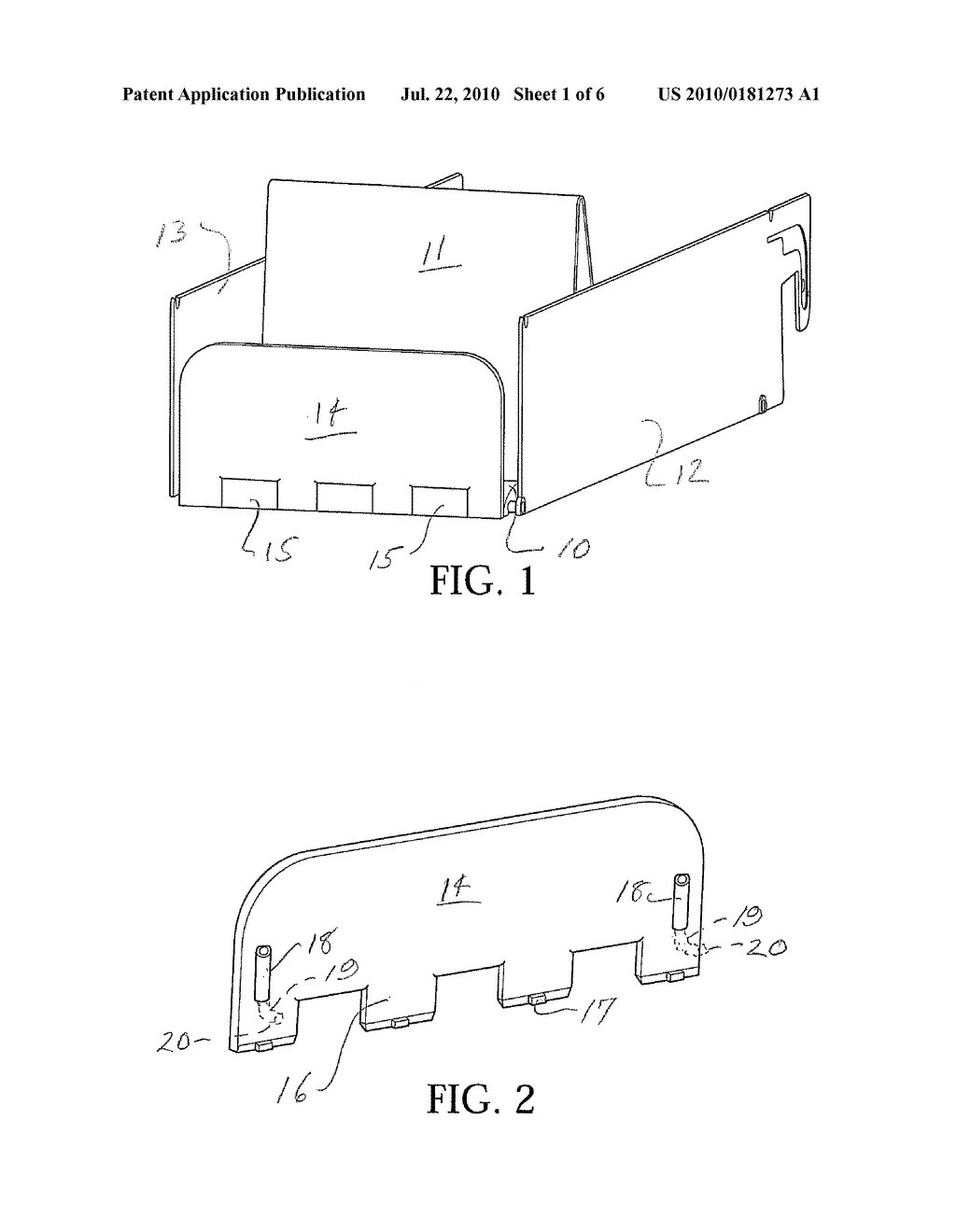 PRODUCT DISPLAY WITH NOVEL FRONT BARRIER - diagram, schematic, and image 02