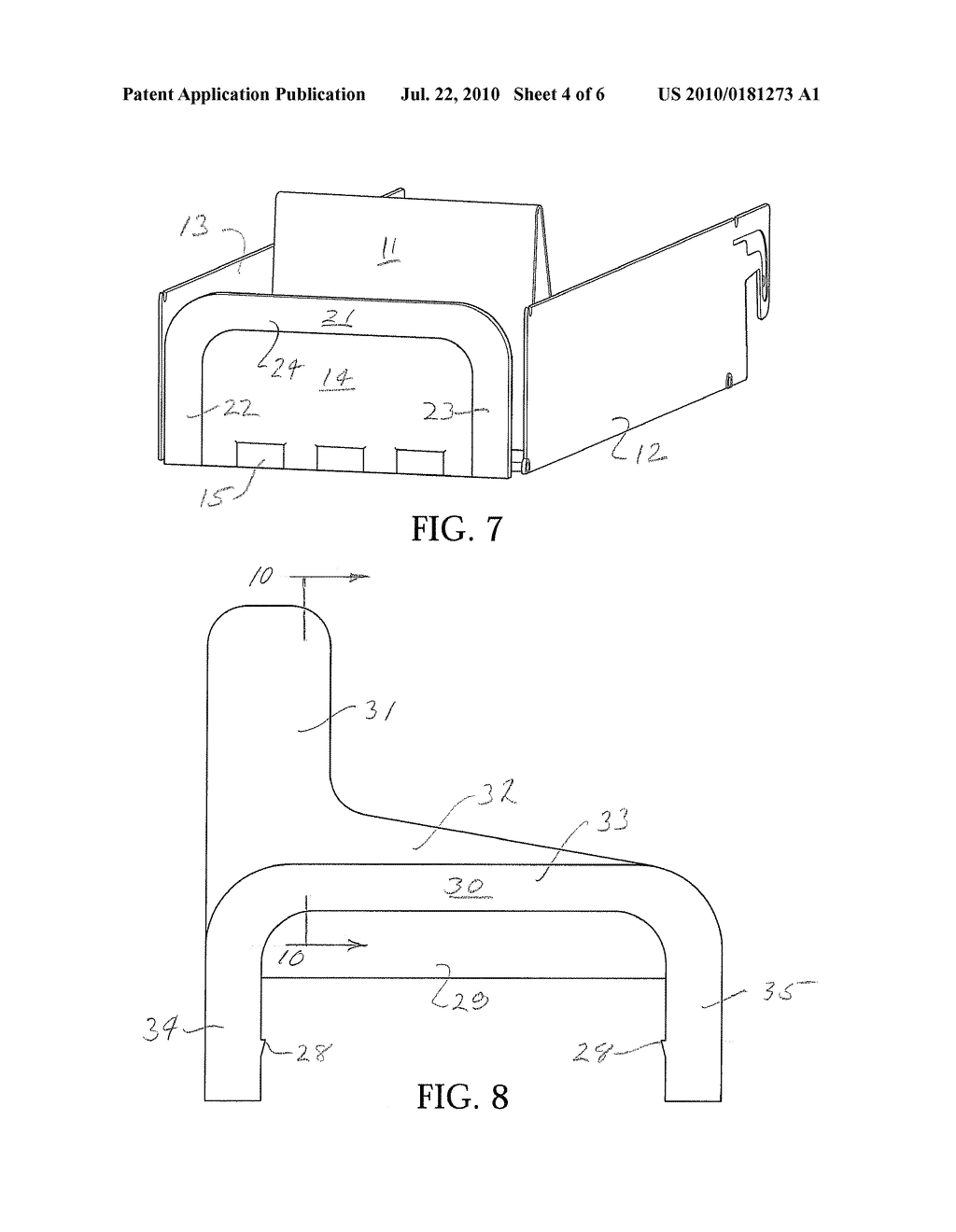 PRODUCT DISPLAY WITH NOVEL FRONT BARRIER - diagram, schematic, and image 05