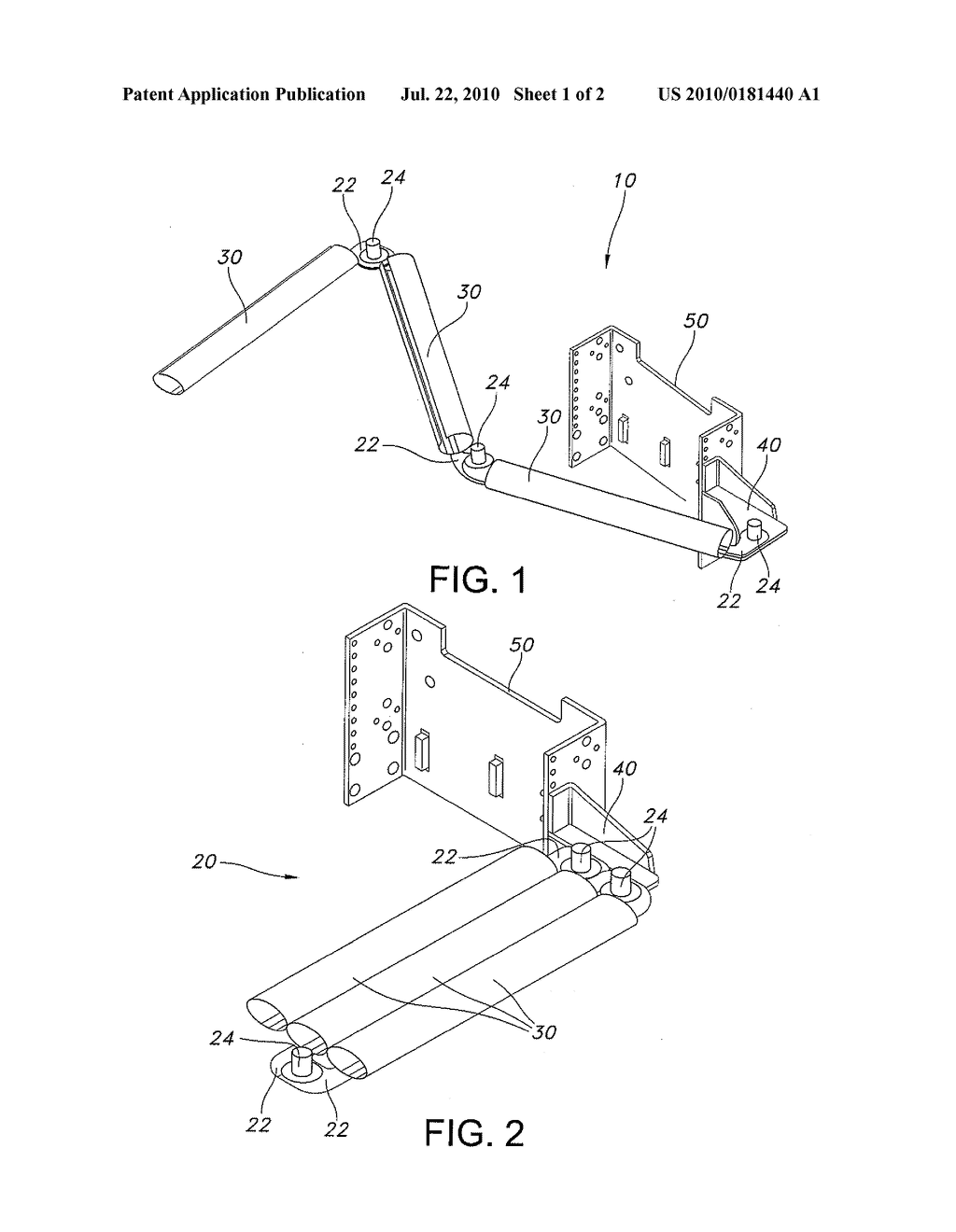 Articulated Cable Management Systems and Methods For Use Thereof - diagram, schematic, and image 02