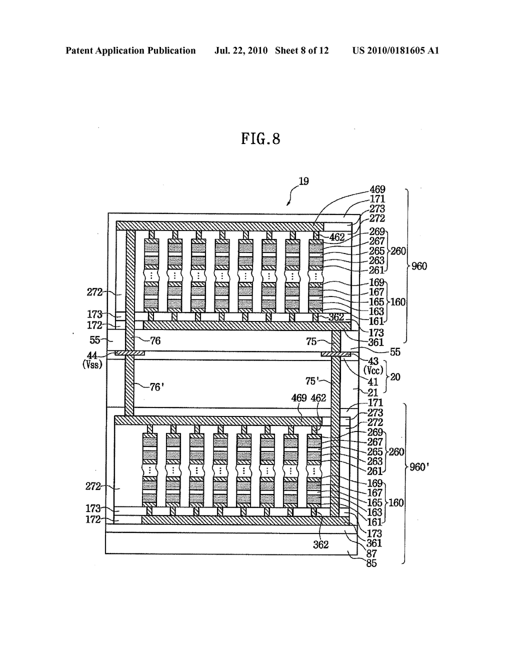 DATA STORAGE DEVICE HAVING SELF-POWERED SEMICONDUCTOR DEVICE - diagram, schematic, and image 09
