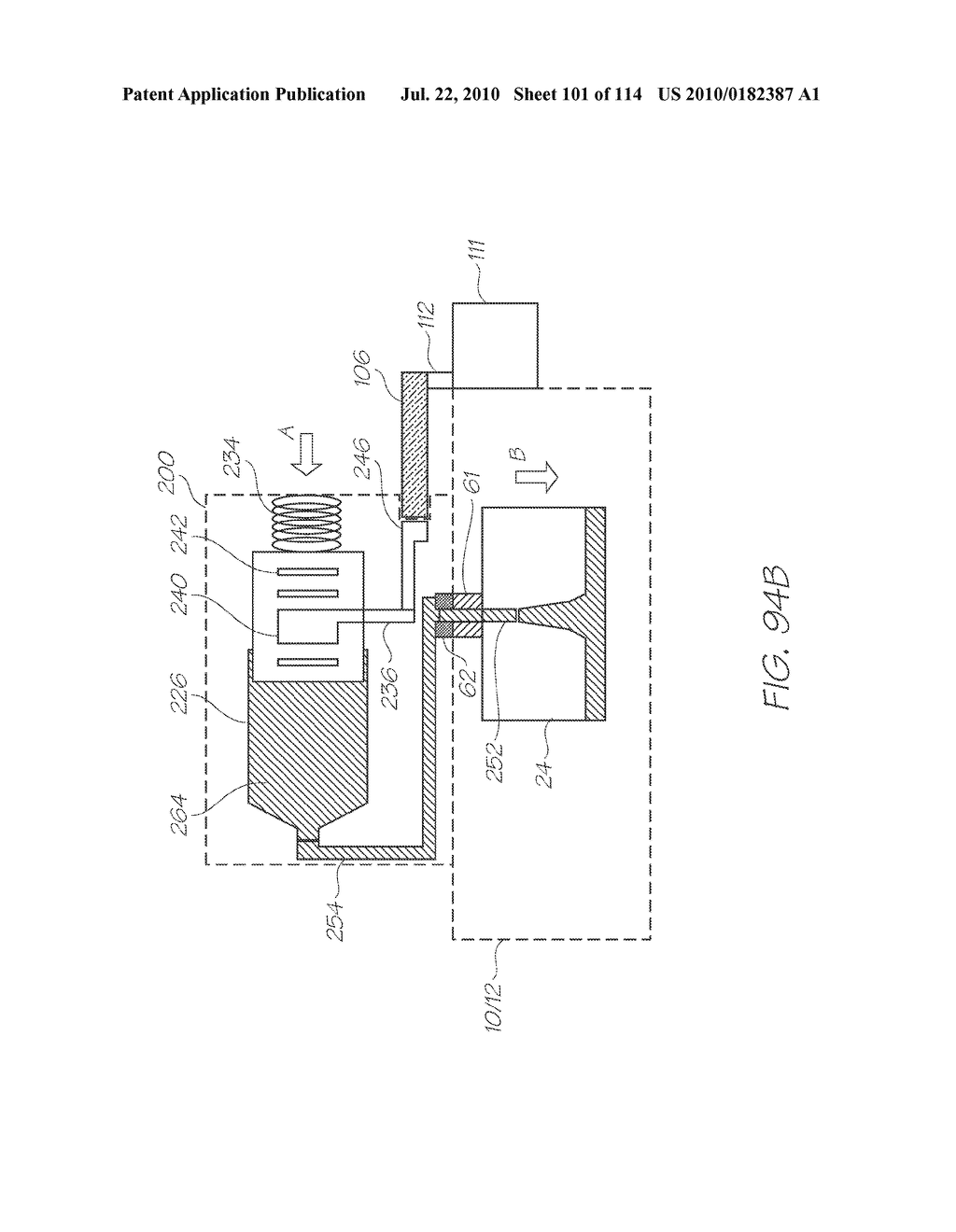 RESERVOIR ASSEMBLY FOR SUPPLYING FLUID TO PRINTHEAD - diagram, schematic, and image 102
