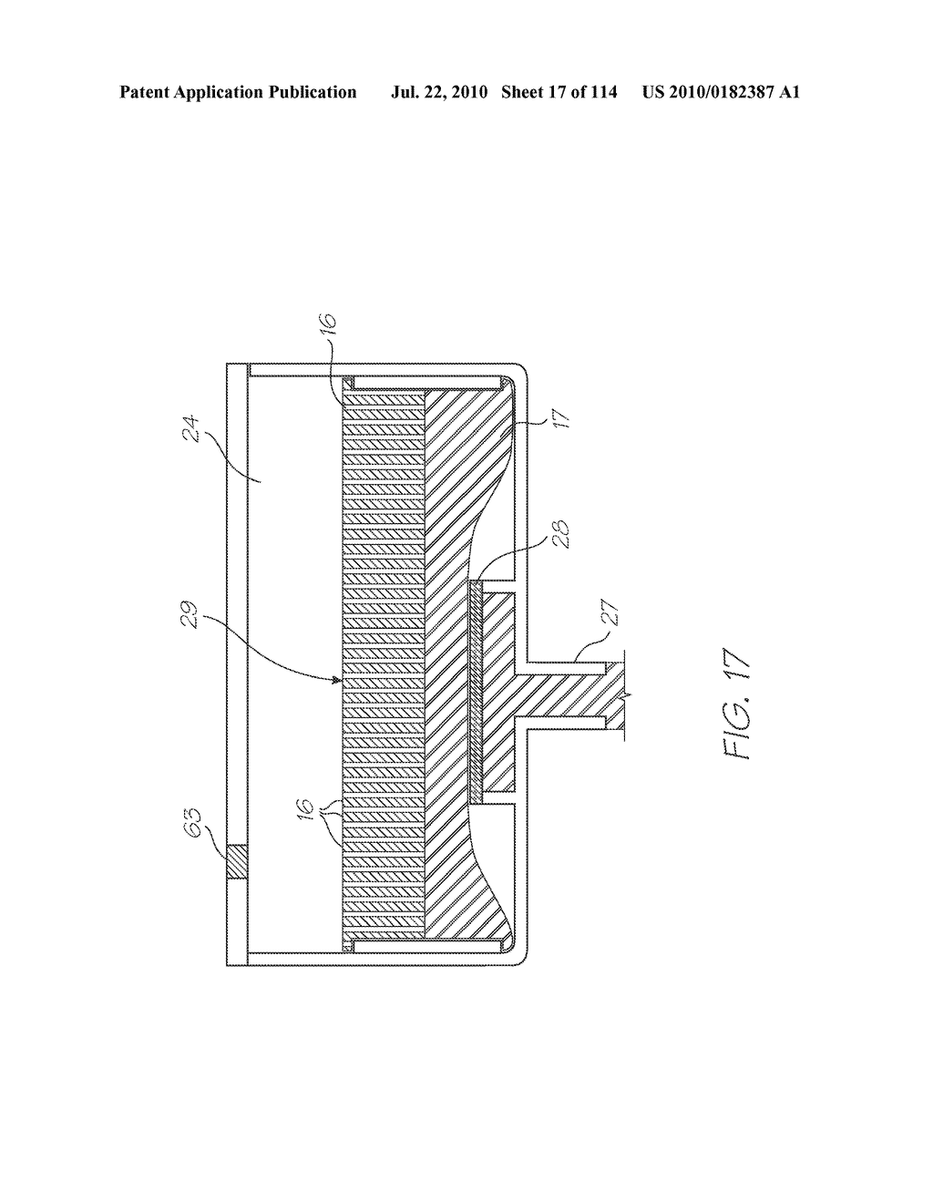 RESERVOIR ASSEMBLY FOR SUPPLYING FLUID TO PRINTHEAD - diagram, schematic, and image 18
