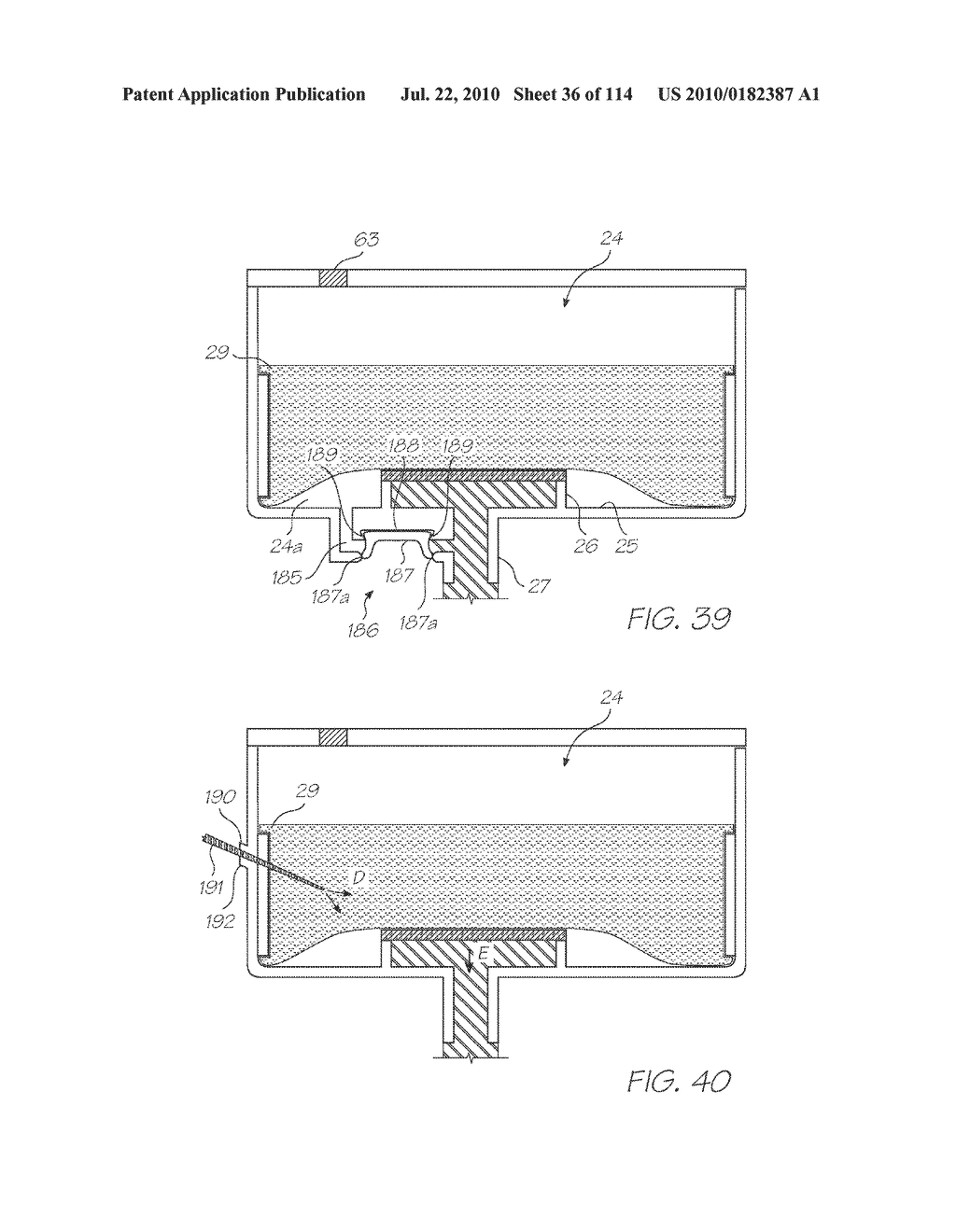 RESERVOIR ASSEMBLY FOR SUPPLYING FLUID TO PRINTHEAD - diagram, schematic, and image 37