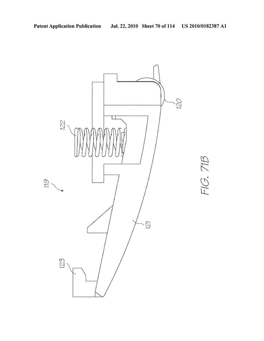RESERVOIR ASSEMBLY FOR SUPPLYING FLUID TO PRINTHEAD - diagram, schematic, and image 71
